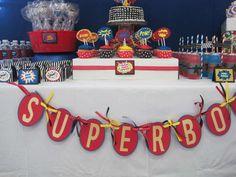 Superhero Birthday Party Ideas | Photo 11 of 61 | Catch My Party