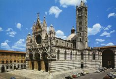 Siena, Il Duomo - The Cathedral, Postcards From Italy, The Province, Siena, Tuscany, Big Ben, 1980s, Cathedral, City, World