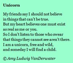 This poem about a unicorn is followed by a brief mini lesson about writing strong (surprise) endings - from The Poem Farm, a site full of poems and poem mini lessons and poem ideas - www.poemfarm.amylv.com