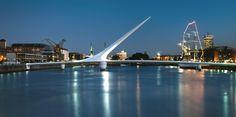 Santiago Calatrava Footbridge Puerto Mujer Buenos Aires, Argentina