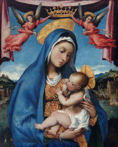Lorenzo Lotto: Madonna and Child  (ca. 1525-9)