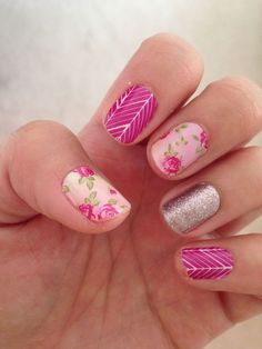 French pedicure ideas rose gold ideas for 2019 Hot Nails, Pink Nails, Hair And Nails, Uñas Jamberry, Jamberry Nail Wraps, Gorgeous Nails, Pretty Nails, French Pedicure, Finger