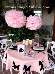 LittleMissMaggie: Poodle Party I WANNA PARTY LIKE THIS! U AND MEGAN CAN THROW IT FOR ME!