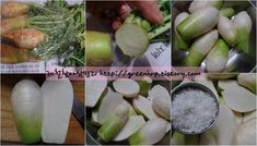 간단하고 맛있는 가을찬 쉰세번째, 통무김치입니다. 가을찬은 김치가 많습니다. 김치재료가 맛있는 계절이라 그러합니다. 올해부터는 김치를 만만 간단찬에 넣고 있는터라 조금 번거로운 작업이 있더라도 만만하게.. Sprouts, Vegetables, Recipes, Food, Vegetable Recipes, Eten, Veggie Food, Recipies, Brussels Sprouts
