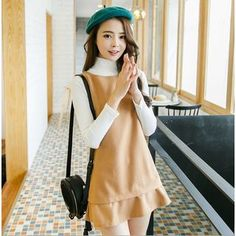 Buy 'SUYISODA – Set: Long Sleeves Knit Top   Sleeveless Dress ' with Free International Shipping at YesStyle.com. Browse and shop for thousands of Asian fashion items from China and more!