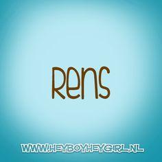 Rens (Voor meer inspiratie, en unieke geboortekaartjes kijk op www.heyboyheygirl.nl)