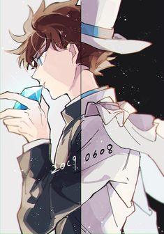 IMG_20190608_125713 Magic Kaito, Detektif Conan, Kaito Kuroba, Detective Conan Wallpapers, Kaito Kid, Case Closed, Doujinshi, Me Me Me Anime, Fantasy Characters
