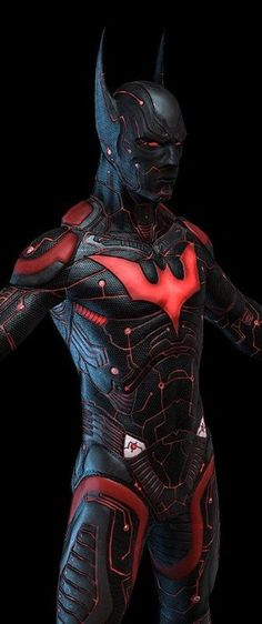 Stunning ultra-real Batman Beyond suit