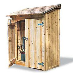 Photo: Woodworkers.com | thisoldhouse.com | from Buying Guide for Garden Tool Sheds