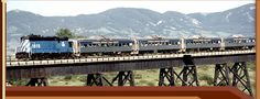 Charlie Russell Chew Choo - Montana's Premier Dinner Train