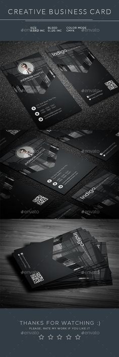 Business Card Design Template - Business Cards Template PSD. Download here: https://graphicriver.net/item/business-card/17303895?ref=yinkira