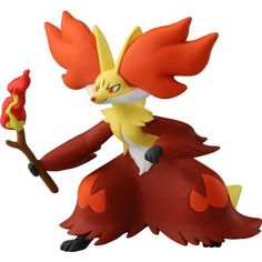 Takaratomy Pokemon Go Plus Monster Collection Figure Sp-08 Delphox