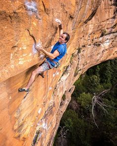 110% in the present moment ... Andrew on Returnity (28/7c) Blue Mountains