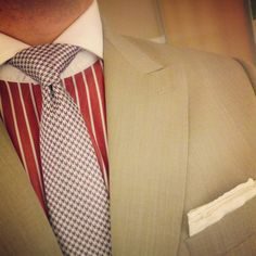 #WIWT 2/15/13  J.Hilburn custom shirt and suit