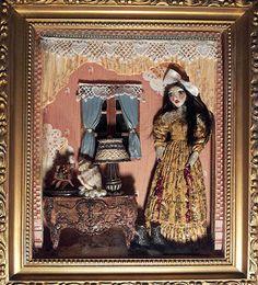 Dame Darcy Bloody Mary Doll Gothic Lolita Dress Dark Fantasy Shadow Box
