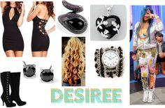 """Desiree"" by baddchickk13perez on Polyvore"
