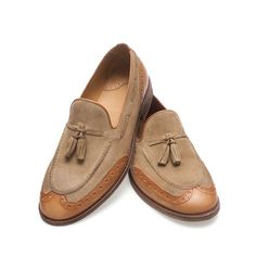 $129.00 SPORTY MOCCASIN WITH TASSELS