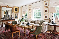 A magnificent interior by Timothy Corrigan.