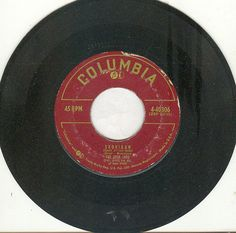 """The Four Lads 45 rpm """"Skokiaan (South African Song)"""""""