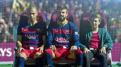 Los jugadores del FC Barcelona, estrellas de los últimos videos de Qatar Airways