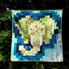 toolegittoquilt:    Did you know that elephants are the only mammals with 4 knees? And they can't jump. And they make cute baby quilts.