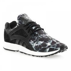 Adidas Originals Adidas Men's Racer Lite Print Trainers (Black) - Adidas Originals from Loofes UK