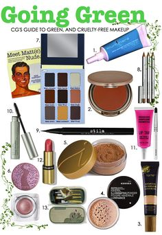 College Gloss | Go Green: Eco-Friendly Makeup