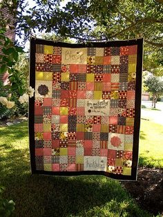 Make a special gift for a loved one using your old fat quarters and this lovely patchwork quilt pattern from Moore Moore Moore Blake. Top it off by writing a heartfelt message that you can attach once you've finished making your charming patchwork quilt. Patchwork Quilt Patterns, Modern Quilt Patterns, Applique Quilts, Patchwork Tutorial, Applique Tutorial, Quilting Patterns, Quilting Ideas, Quilting Tutorials, Quilting Projects