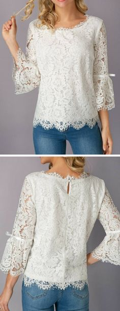 768e239835641a liligal blouse shirts top womenswear Lace Blouses, Shirt Blouses, Shirts,  Zip Up Hoodies