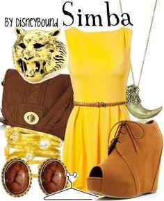 Simba by disneybound