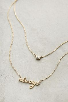 Always Layer Necklace - anthropologie.com