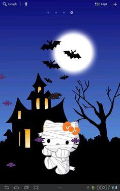 hello kitty halloween images | Hello Kitty Halloween | スマホ・ライブ壁紙ギャラリー