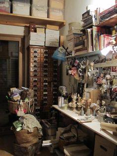 Gerda Schaarman Rijsdijk doll artist studio