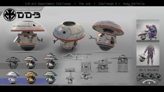 Challenge - design by Dedyone Star Wars Droids, Star Wars Rpg, Star Wars Ships, Star Wars Characters Pictures, Sci Fi Characters, Lightsaber Parts, Star Wars Design, Star Wars Light Saber, Edge Of The Empire