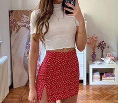 Image shared by jen. Find images and videos about love, fashion and cute on We Heart It - the app to get lost in what you love. Cute Vacation Outfits, Trendy Summer Outfits, Casual Summer Outfits, Pretty Outfits, Stylish Outfits, Summer Clothes, Outfit Summer, Casual Clothes, Holiday Outfits