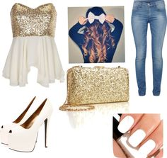 """"""":)"""" by andrea-mtz ❤ liked on Polyvore"""