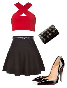 """""""Untitled #22"""" by belen-lillo on Polyvore featuring New Look, Motel and Christian Louboutin"""
