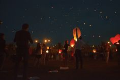 Paper lanterns in Moscow