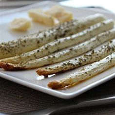 Roasted White Asparagus with Herbes de Provence - Allrecipes.com