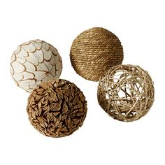 IKEA - SOMLIG, Decoration, ball, You can arrange the decorative balls in a bowl or large vase and combine them with LUGGA candle in the same color to create a beautiful, coordinated impression.</t><t>The decorative balls are a simple and flexible way to bring color and texture to your home décor.