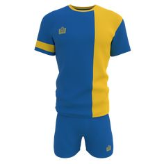 Coventry Royal Gold Football Kit from SportsApp online store Soccer Kits, Football Kits, Complimentary Colors, Coventry, Color Stripes, Red And White, Store, Gold, Shirts