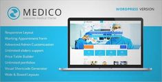 Download and review of Medico - Medical & Health WordPress Theme, one of the best Themeforest Retail themes