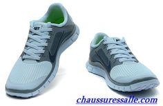 best service f5e93 53cc6 Vendre Pas Cher Chaussures Nike Free 4.0 V3 Femme F0008 En Ligne.