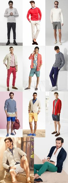 How To Layer In Summer - Men's Knitwear - Casual Outfit Inspiration Lookbook