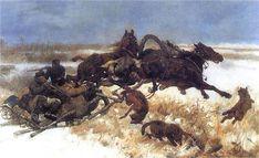 ChelmonskiJozef.1883.NapadWilkow - Wolf attacks on humans - Wikipedia, the free encyclopedia