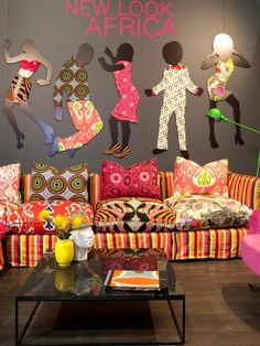 Exhibition Design by Cathy O'Clery, Joburg Decorex... You are SO screwed, honey!!!! I soooo doing this!