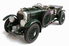 Airfix 1/12 scale 1930 Bentley 4½ Litre (Blower Bentley).