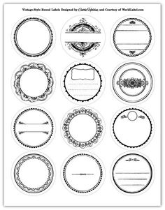World Label 2.5″ Round Label Giveaway and Free JSIM Label Designs work great with Avery 5294 download here: http://blog.worldlabel.com/pdf/WorldLabel-CatheHolden2.5RoundLabels.pdf Make sure to select no shrinking when printing or they will not line up.: