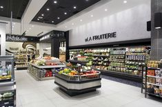2016 Design Award Winners Supermarket/Grocery Store Silver Award Valmont Galerie Gastronomique, Quebec, Canada