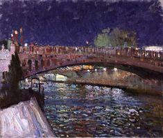 Paris by Night, Bato Dugarzhapov Artrussia.ru: